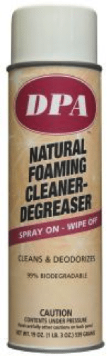 natural foaming cleaner