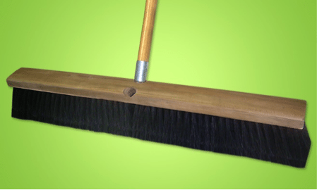 rough sweep push brooms