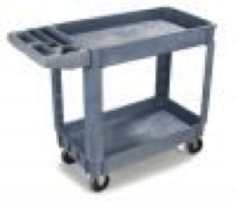 small bin top utility cart