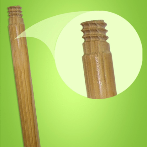 wooded threaded tip